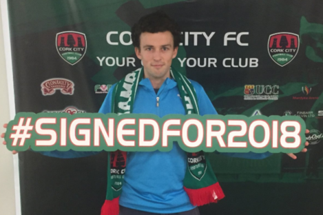 Barry McNamee has joined Cork City.