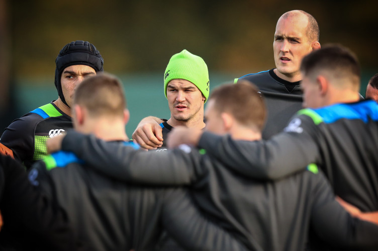 The Ireland team will be named at lunchtime today.