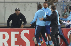 Marseille's American owner blames both Patrice Evra and the fans for attack