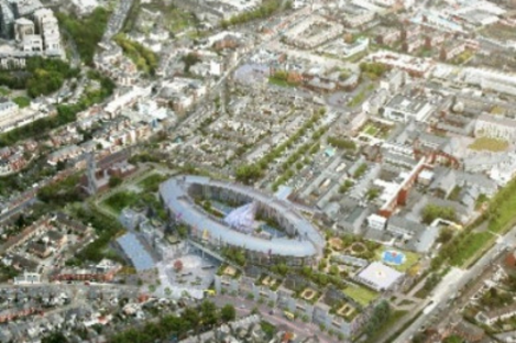 What the new hospital is set to look like.