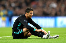 Cristiano Ronaldo is experiencing the biggest slump of his career in 12 years
