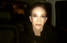 Kathy Griffin reassured Irish fans after she fainted on stage in Dublin last night