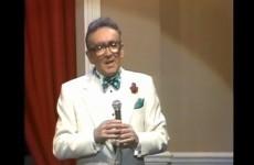 WATCH: Comedian Hal Roach praises 'unpretentious Irish humour'