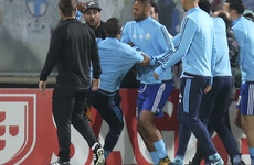 Patrice Evra banned from European football until next season for head kick