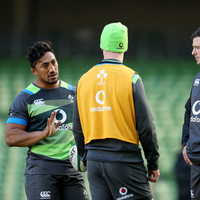 'Bundee runs the show in Connacht, he has to bring a little bit of that to us' -- Rory Best