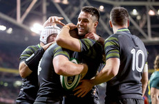Conway and Stockdale on the mark as Ireland cruise to win over sorry Springboks