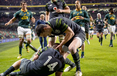 As it happened: Ireland v South Africa, Autumn internationals
