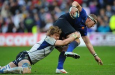 Saint-Andre makes two changes for Ireland clash