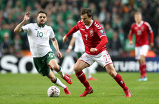 As it happened: Ireland v Denmark, World Cup qualification play-off first leg