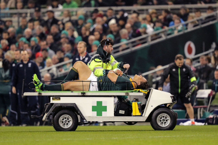 Oosthuizen's evening was cut short by injury.