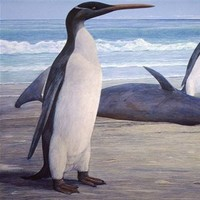 Extinct 'giant penguin' species reconstructed from fossils