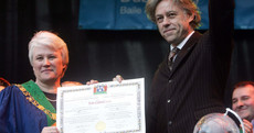 He admits giving it up is 'a PR stunt', but what happens now to Bob Geldof's Freedom of Dublin?