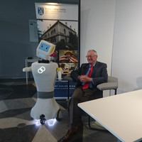 Robots like Stevie could allow the elderly to live in their own homes for longer