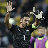 Watch: Gigi Buffon responds to booing of Swedish national anthem with clapping