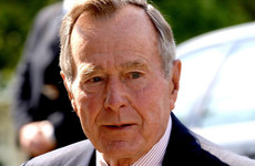 George Bush Snr apologises after woman alleges he groped her when she was 16
