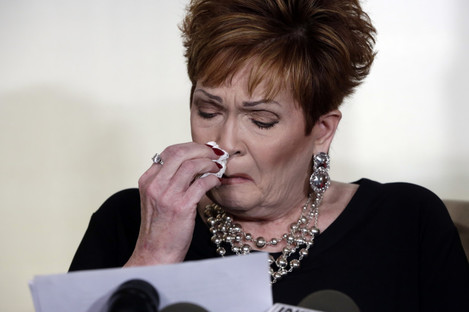 Beverly Young Nelson has accused Roy Moore of being sexually aggressive towards her when she was a teenager.
