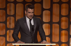 Colin Farrell told a great story about meeting Donald Sutherland for the first time when presenting him with an Honorary Oscar