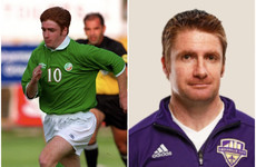 The ex-Irish underage international who is building quite a coaching reputation in the US