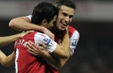 What's Spanish for wishful thinking? Arteta reckons RVP will stay at Arsenal