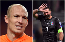 Here are 10 stars that won't be at the World Cup in Russia next summer