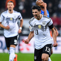 Stoppage time equaliser extends Germany's unbeaten run to 21 games