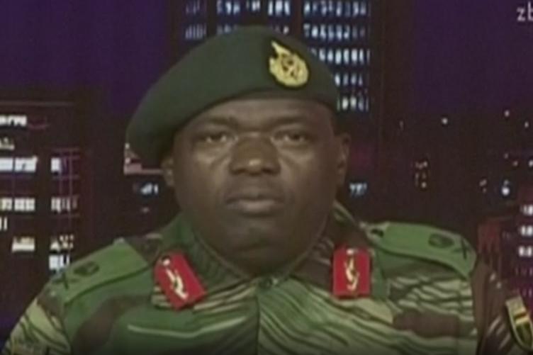 Major General Sibusiso Moyo, Chief of Logistics of the Zimbabwean army.