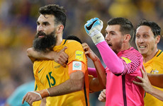 Aston Villa midfielder the hat-trick hero as Australia book their place at the World Cup