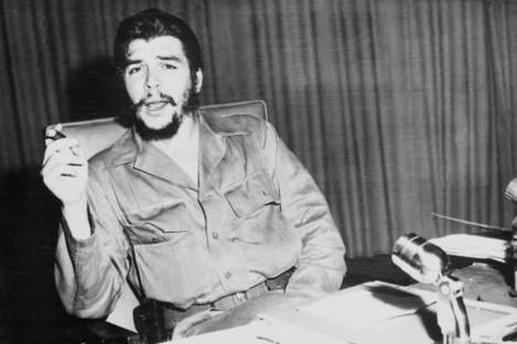 Che Guevara photographed in Havana, Cuba in October 1960.