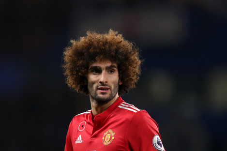 Fellaini has been with United since 2013.