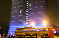 Fire alarms 'successfully operated' after fire broke out in Belfast tower block