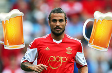 Dani Osvaldo: I quit football for beer and grub, and turned down Sevilla to attend a music festival