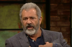 Mel Gibson told Ryan Tubridy that his 'heart goes out to the victims' of sexual harassment in Hollywood