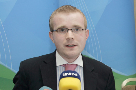 Barry Walsh, who was a former president of Young Fine Gael.