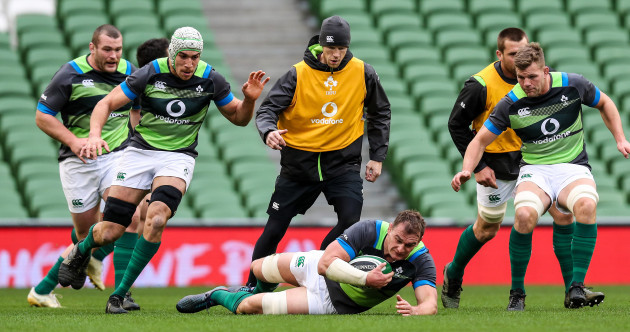 Ruddock leads an Irish charge low on experience, high on confidence against Fiji