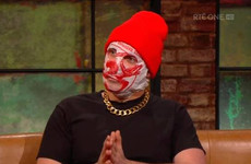 The Rubberbandits' Blindboy Boatclub brilliantly explained why he wears a plastic bag on his head