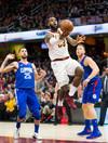 Lebron shines as Cavs win, Spurs rally stuns Thunder