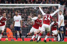 One win in 17 away for Spurs against 'big six' sides, as Arsenal prevail in North London derby