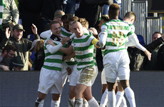 Watch: Stunning Leigh Griffiths free kick maintains Celtic's perfect record
