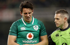 'He's brave to a fault': Carbery's masterful display ends with suspected arm fracture
