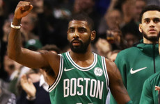 Kyrie on fire as Celtics win 15th straight, while Curry leads Warriors fightback against 76ers