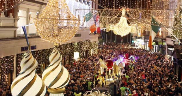 Families left disappointed after crowd issues once again hamper Dublin's Christmas lights event