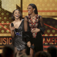 Kelly Rowland apologised for butchering Niall Horan's name at the AMAs last night