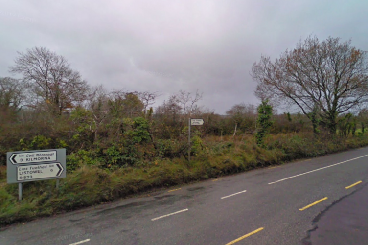 A section of the R523 near Listowel, Kerry.
