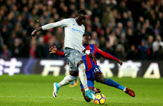 Premier League history made as Everton's Oumar Niasse charged for diving