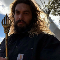 Guinness sent Jason Momoa a customised Aquaman beer tap to congratulate him on his role in Justice League