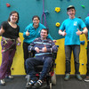 Wheelchair users and people with disabilities can now climb and abseil in Dublin
