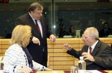 Eurozone finance ministers agree in principle on first Greek bailout payment