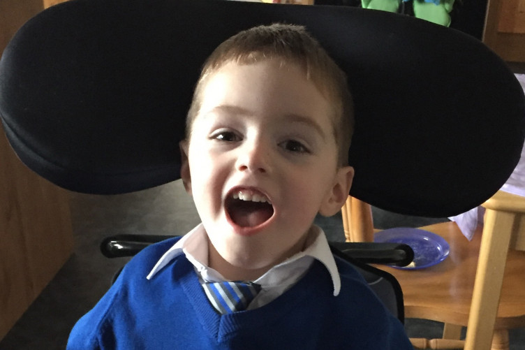 Eoin McCallig will turn five on Friday.