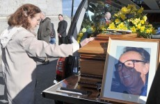 In pictures: Funeral of comedian Hal Roach takes place in Dublin