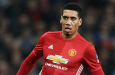 Chris Smalling hits back at England snub